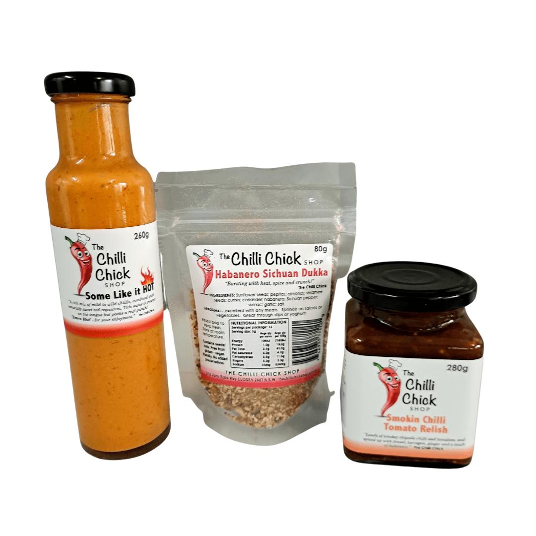 sauce relish dukka pack