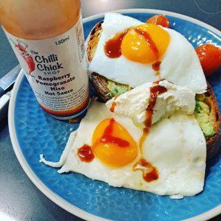 Monday morning breakfast goals...  #thechillichickshop